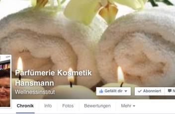 Parfümerie & Kosmetik Hansmann auf Facebook